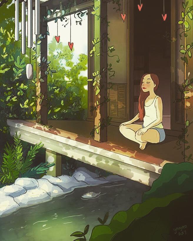 beneficios meditação